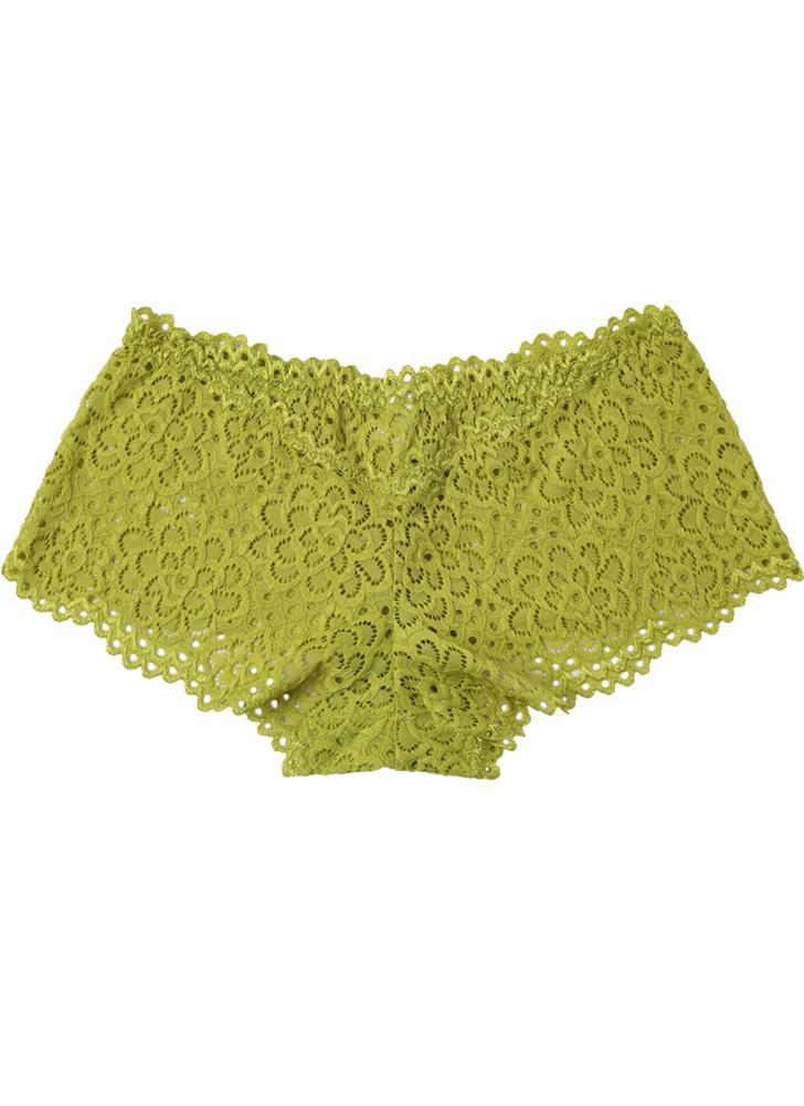 998c0bd81e9f3c Sexy Frauen-Spitze-Schlüpfer Blumen aushöhlen Netz Dropped-elastische  Taillen-Unterhose-