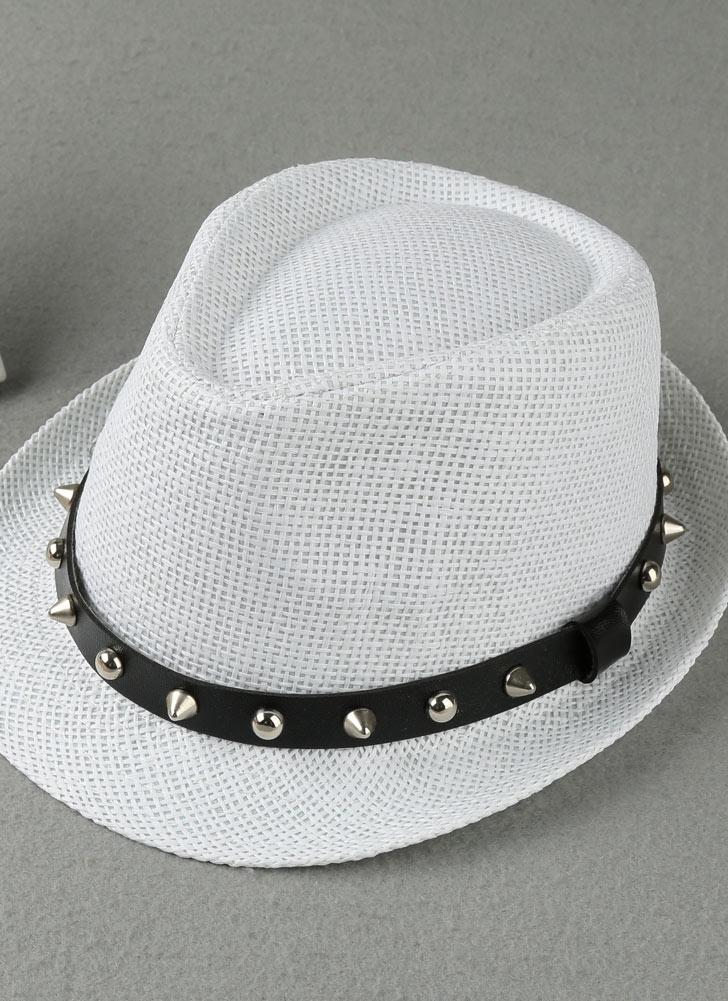 blanco Moda Sombrero de Panamá Sombrero de Panamá Sombrero de paja ...
