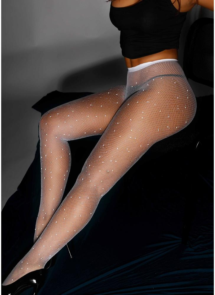 In white pantyhose p pantyhose
