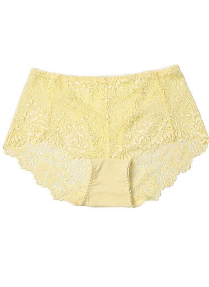 Underwear Transparent Mulheres calcinha de renda Sexy Macio Briefs  Unerpants ultra-fino respirável d38dd226755