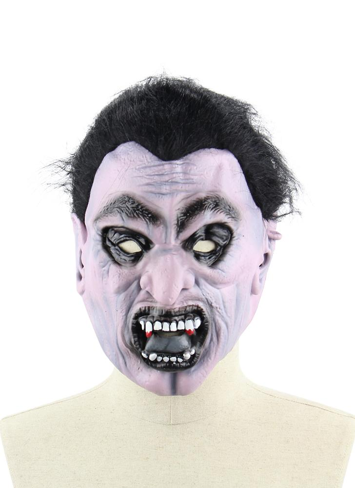 Latex Scary Vampire Mask Full Face Horror Toothy Zombie Masques avec sangle élastique pour Halloween Masquerade Costume