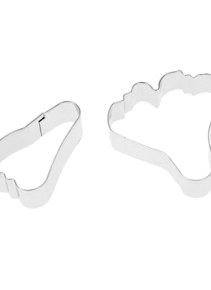 2PCS acciaio inox fondente surfinia Petunia petalo del fiore Cutter Set colla della gomma stampo di cottura della torta che decora gli attrezzi di Sugarcraft del biscotto della taglierina