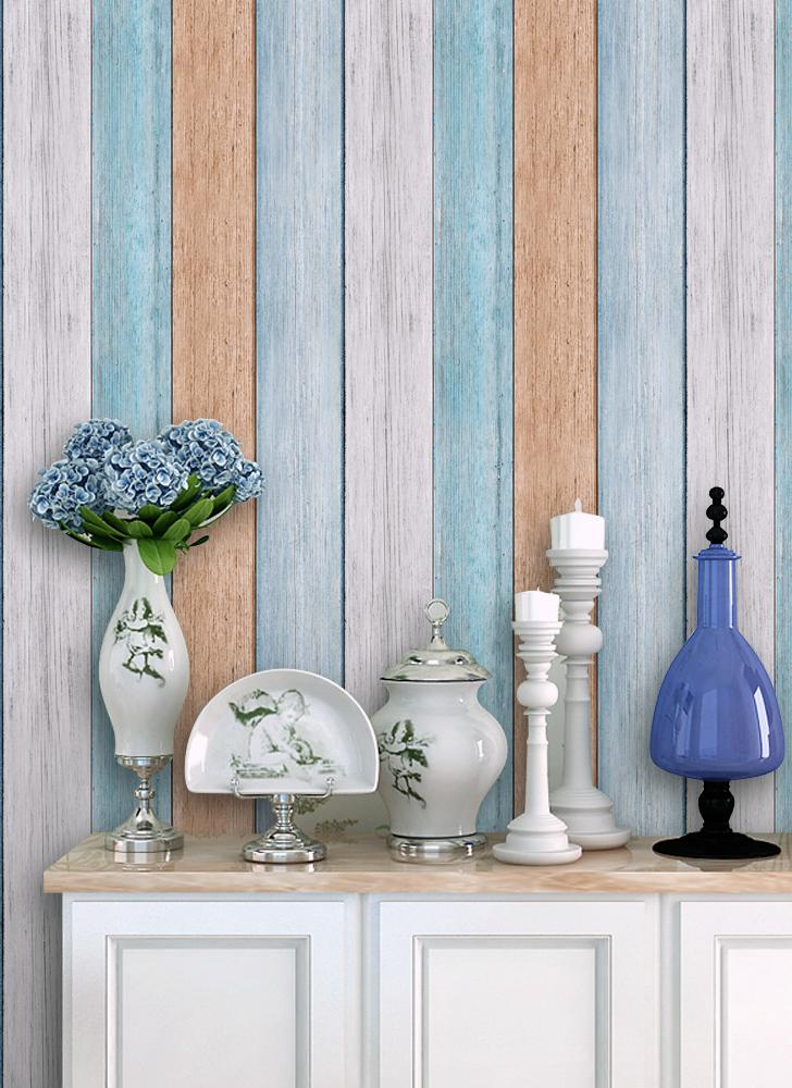 Multi-purpose PVC Vintage Self-adhesive Wallpaper Stickers