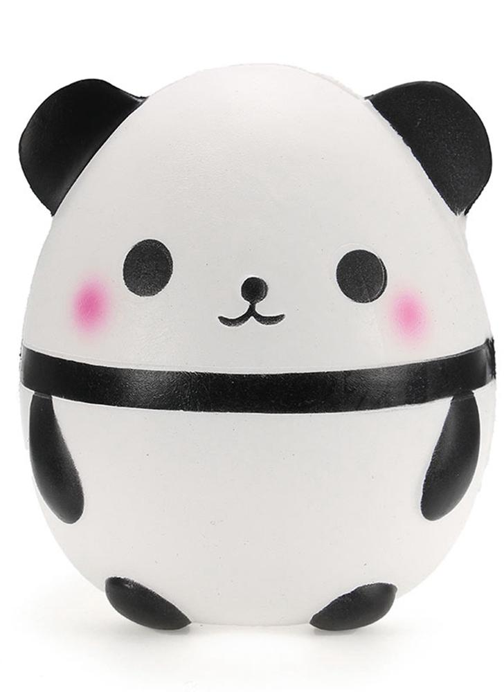 Squishy Soft Panda Doll Egg Slow Rising Collection Presente DIY Decor Soft  Squeeze Toy Phone Straps 64519fa534