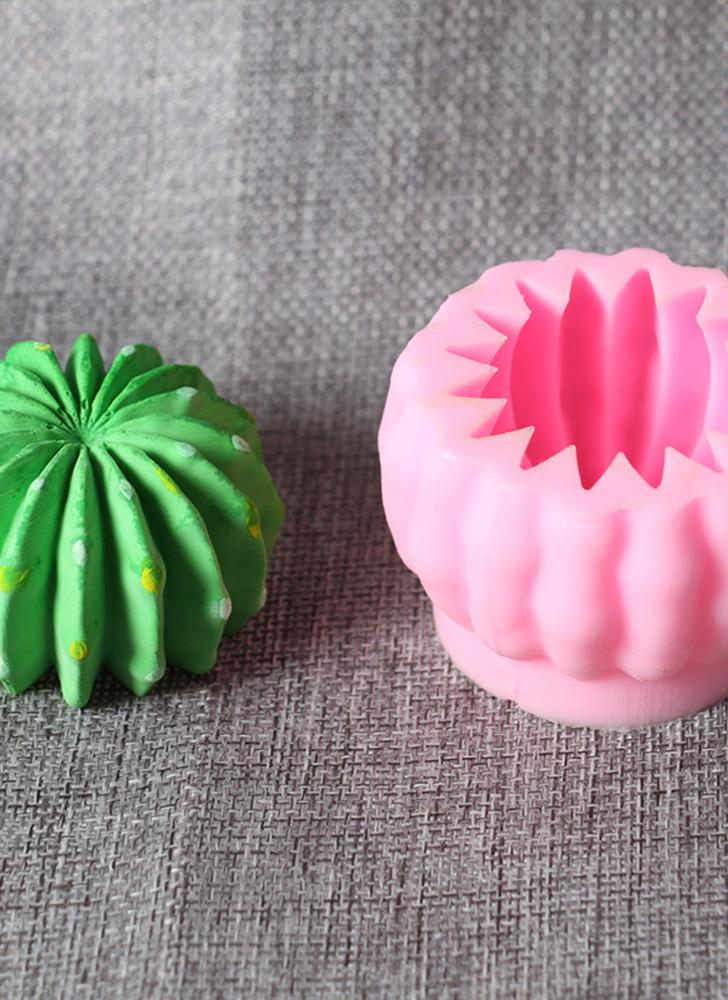 DIY 3D Mini Cactus Balls Silicone Mold Cake Decorating Tools Kitchen Accessories Cookie Chocolate Baking Mould
