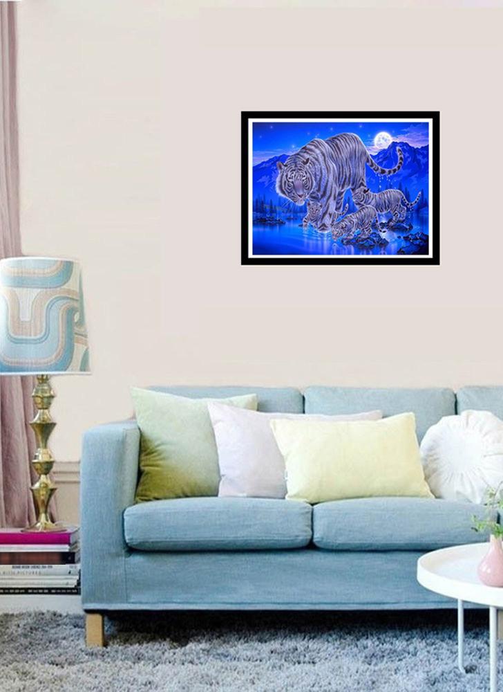 5D Diamond Painting Full Drill DIY Kit Arts Crafts Embroidery Cross Stitch Rhinestone Canvas Wall Home Decor Style 1