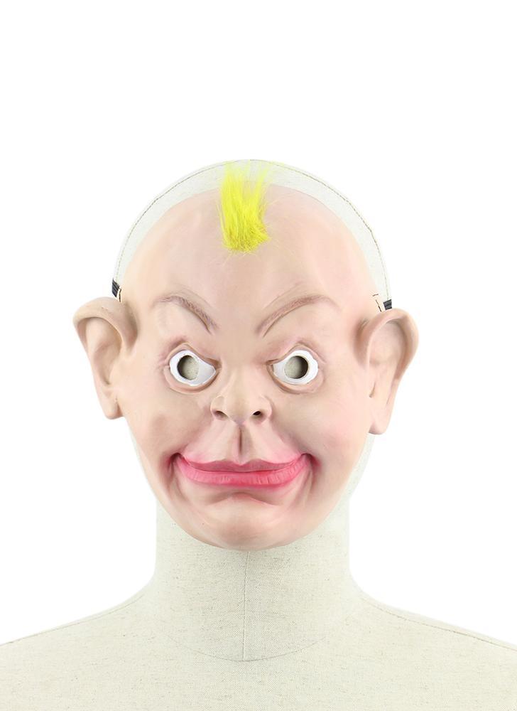Maschera umana realistico del lattice Mascherine divertenti degli uomini maschii spaventosi con la cinghia elastica per il costume di Halloween Cosplay vestito operato
