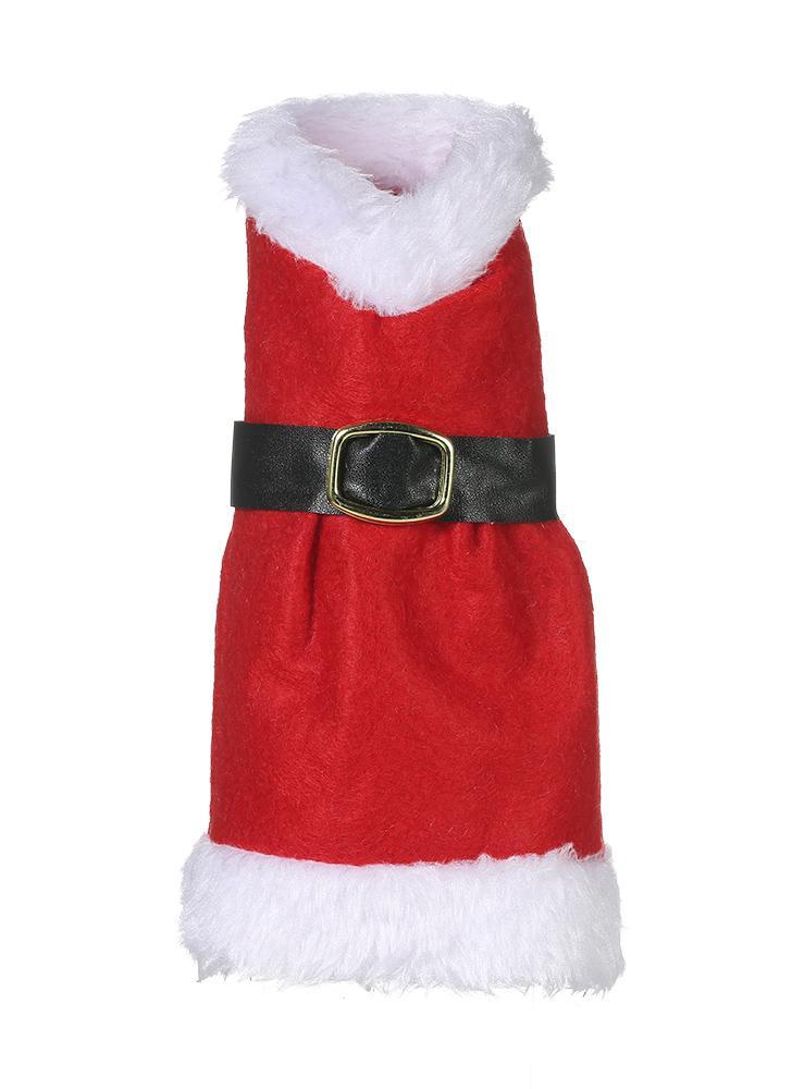 Botella de vino de Navidad X'mas Champagne envoltura de regalo Decoración de Navidad Decoración de fiesta - Hat + Scraf