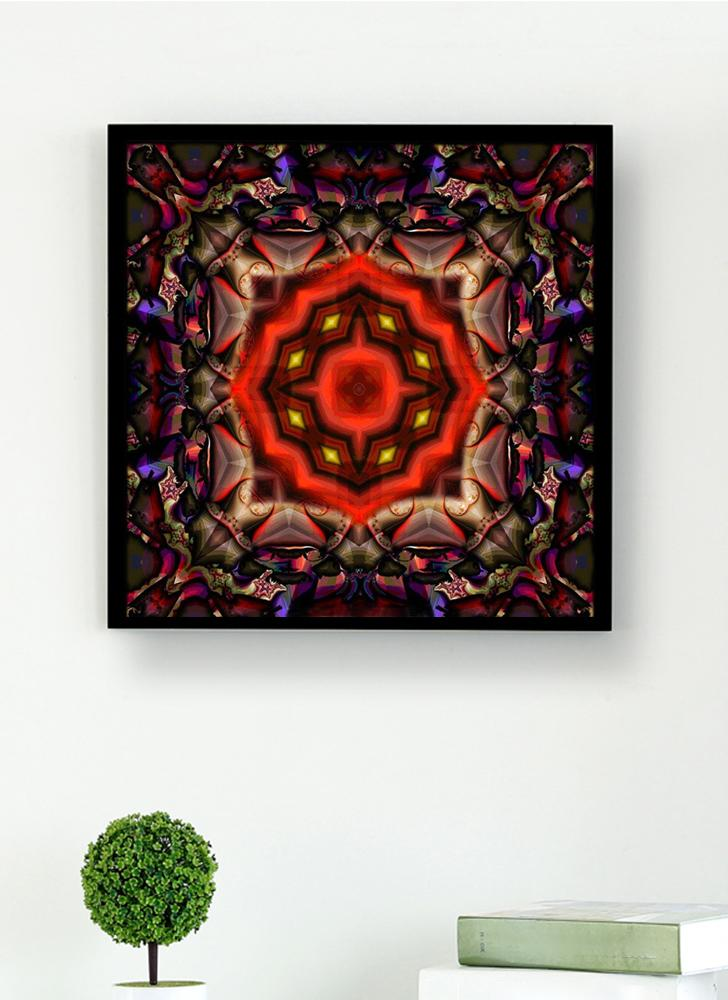 5D DIY Diamond Painting Colorful Mandala Pattern Rhinestone Patchwork decoración de la habitación de la pared