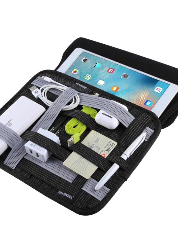 Travel Digital Receiving Package Data Cable Earphone Card Reader Storage Bag
