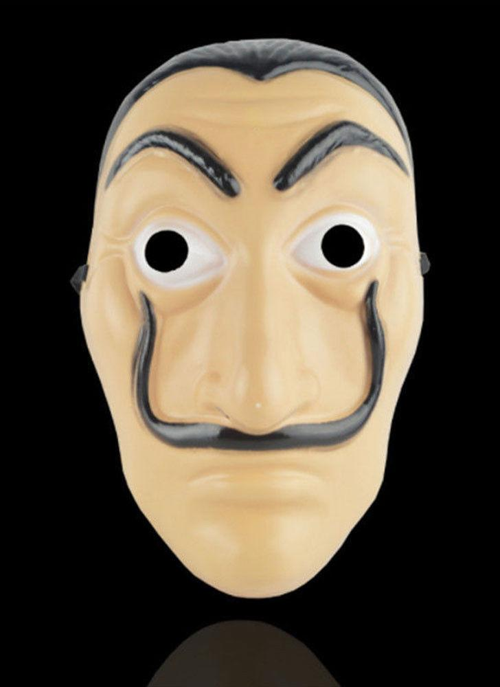 Маска для лица La Casa De Papel Mask Salvador Dali Mascara Masque Money Heist Cosplay Подставки для игрушек
