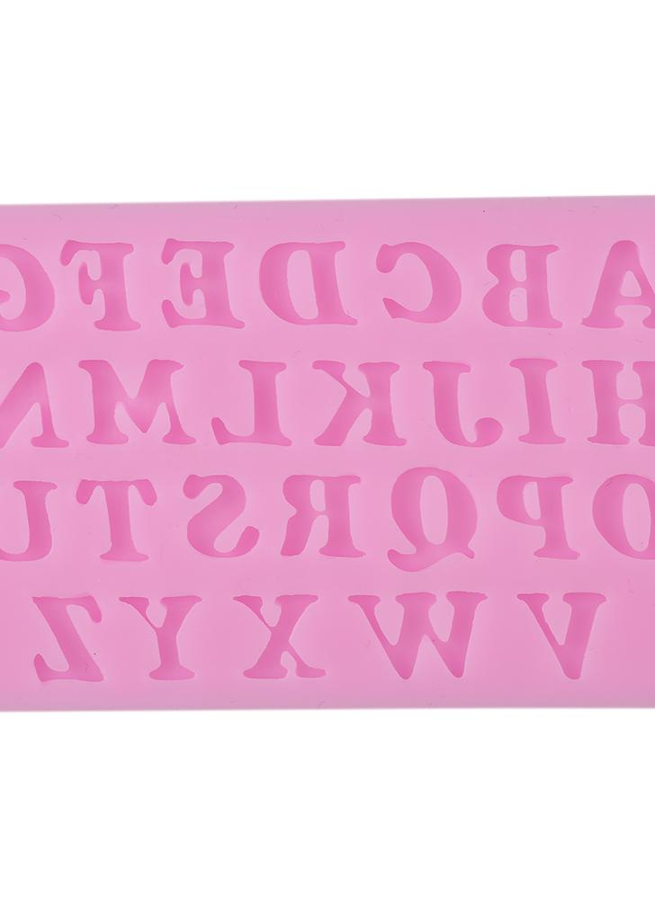 3D Letters Silicone Cake Mold Candy Jelly Fondant Making Mold Tools Decorating DIY Mould Mold Alphabet