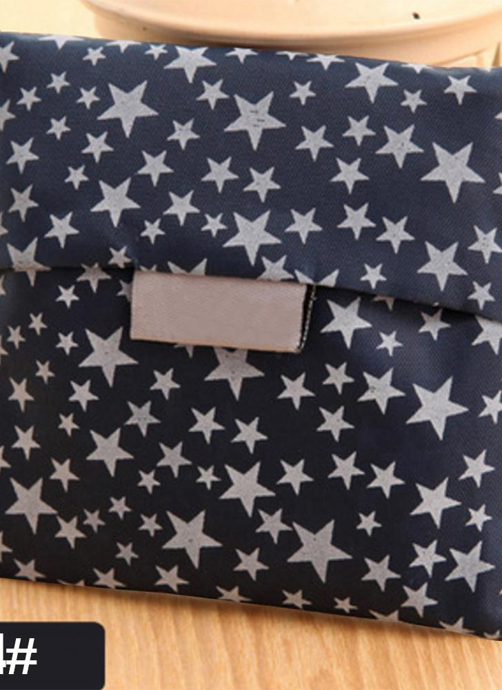 Borsa tote portatile da donna Abbastanza grande Pieghevole riutilizzabile Riciclare Borsa lavabile Eco-Friendly Pieghevole Shopping bag Borse per la spesa Borse per lo stoccaggio 1 #