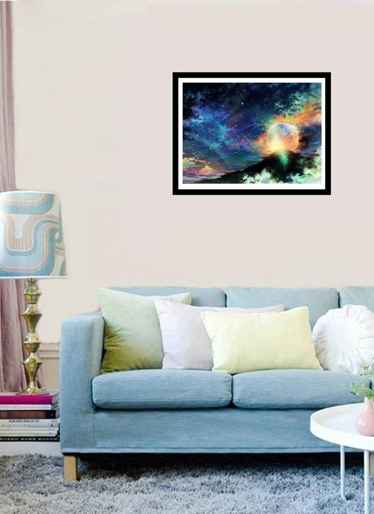 5D Diamond Painting Full Drill DIY Kit Arts Crafts Universe Embroidery Cross Stitch Rhinestone Decoration Canvas Wall Home Decor