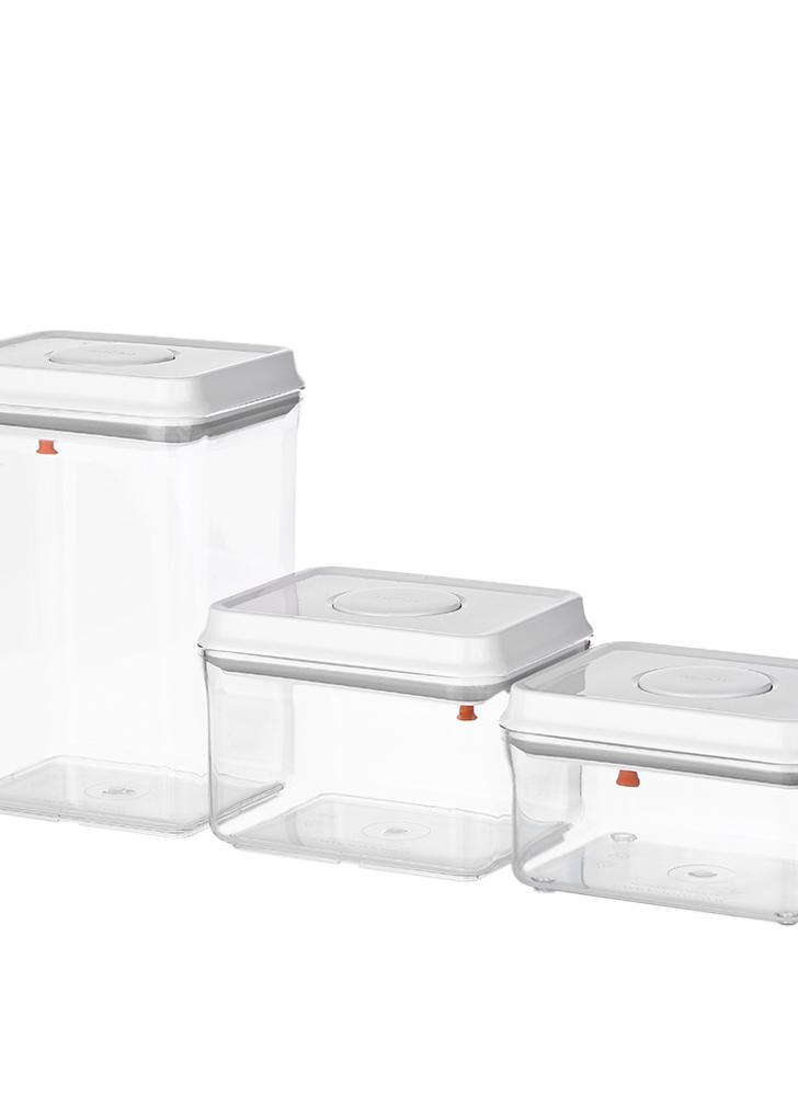 2pcs kleine Kunststoff Aufbewahrungsbox klar Mehrzweck-Teile Produkt Case AB