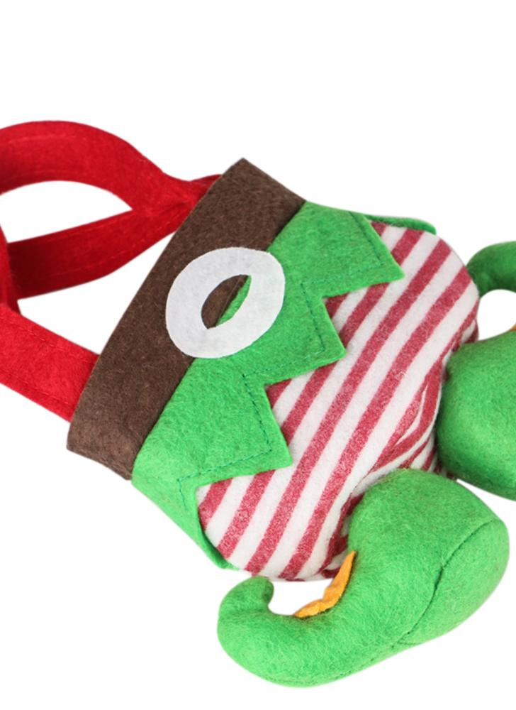 Nuovo regalo di Natale due borse Sacchi di caramella di spirito di Santa Decorazioni di Natale di festa Regalo bello per i bambini