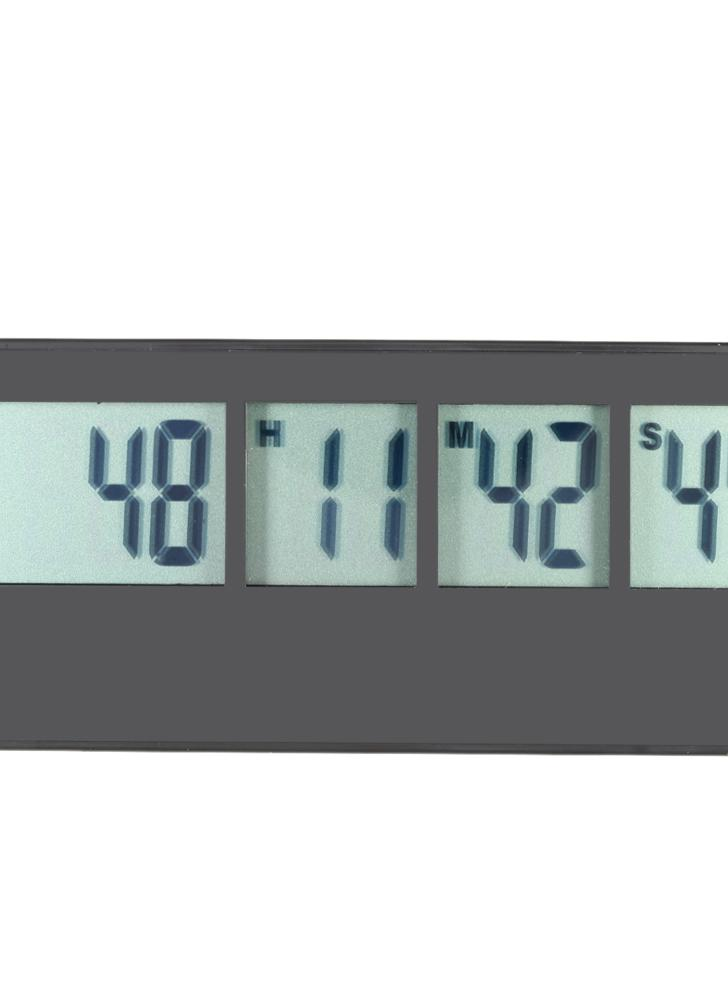 Multi-function LCD Digital Kitchen Timer Countdown UP Industrial Cooking Timer Event Reminder Max.999Day/23H/59M/59S
