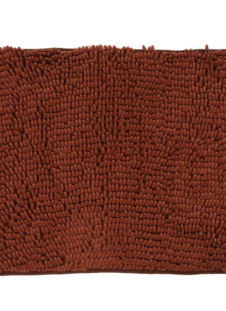 50*60cm Super Soft Chenille Yarn Footcloth Highly Absorbent Carpet Non-skid Door Mat Ground Mat Floor Mat for Indoor Entranceway