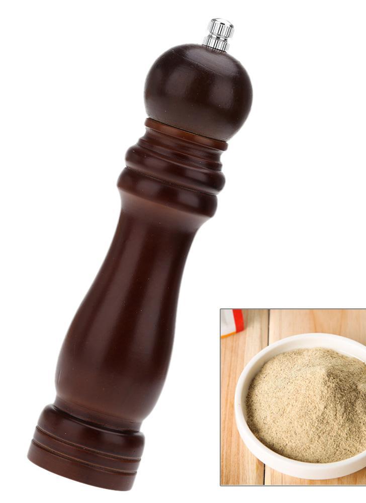 8 «деревянный ручной перец точильщика соль Специи Мельница шейкер Винтаж кухня шлифовальный инструмент