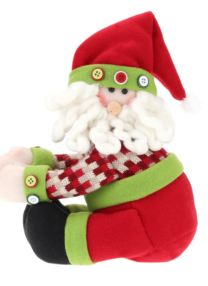 Vendita calda incantevole decorazioni per copertura Winebottle bambola vino bottiglia decorare decorazione di Natale Santa copertina