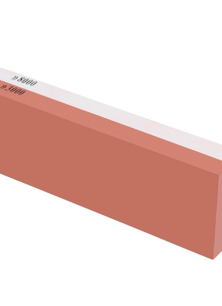 3000 & 8000 Grit Combinaison Pierre à Aiguiser en Corindon Affûteur de Double Face Pierre à Affûter pour Broyage Fin & Grossier Rasoir de Couteau Outil de Polissage