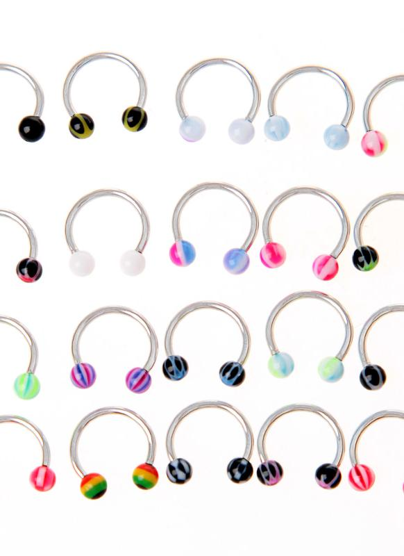 Ball Nose Rings