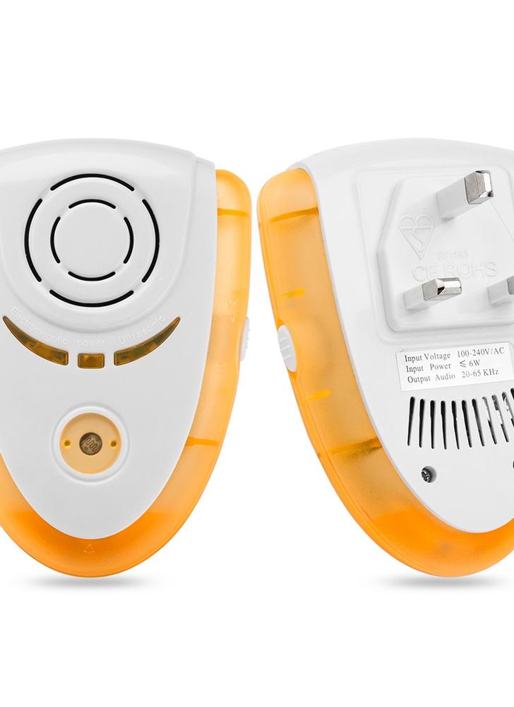 Smart Electronic Ultraschall Home Pest Maus Control Repellent mit Nachtlicht Elektromagnetische Bionic Wave Plug-in Repeller für Insekten