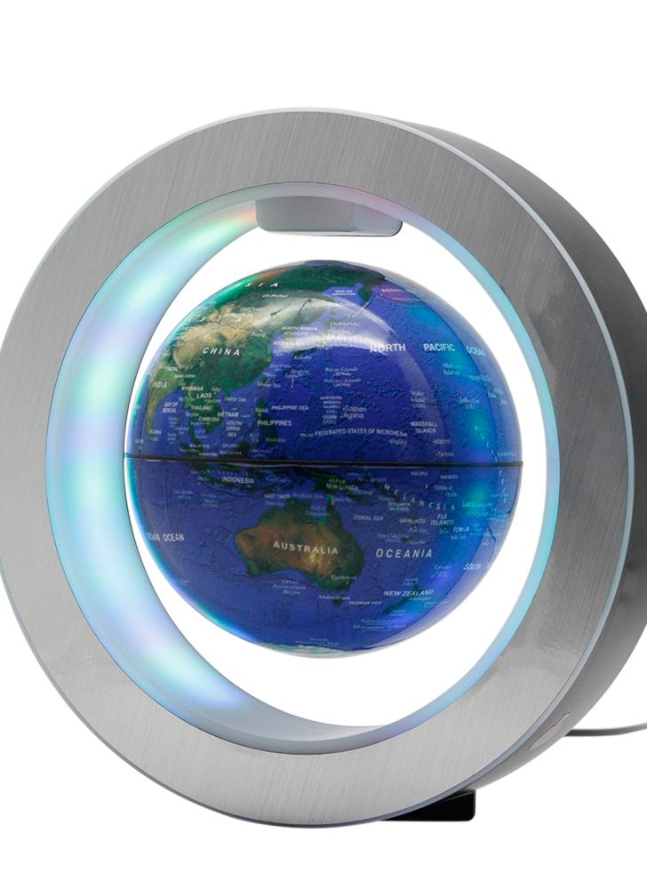 1 magnetic floating globe 6 levitation rotating ball with led magnetic floating globe 6 gumiabroncs Image collections