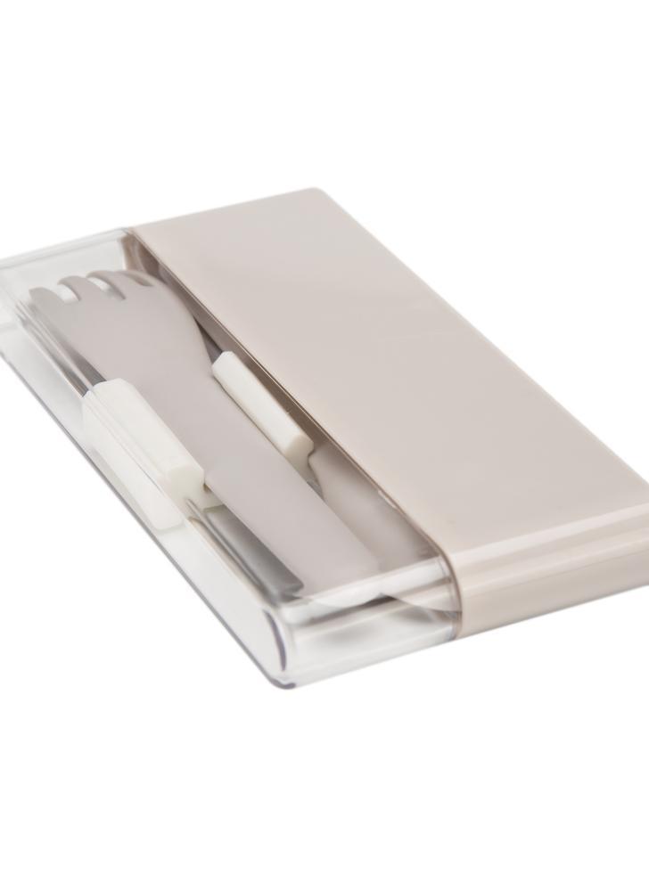 3pcs / set haut de gamme détachables Baguettes Cuillère Fork élégant Flatware Portable Set Bonne qualité Ustensiles