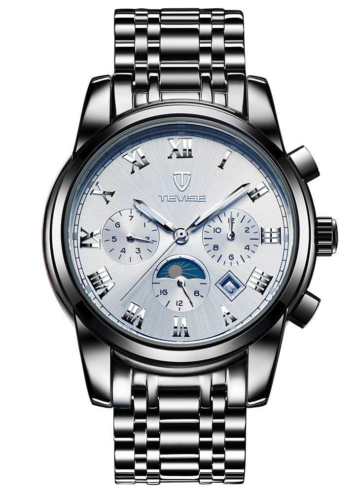 934325638b4d TEVISE Reloj mecánico automático luminoso resistente al agua de los hombres  de lujo
