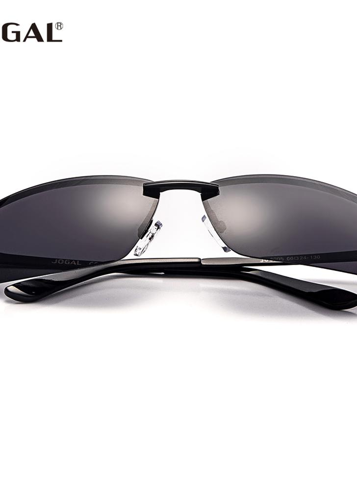 JOGAL Óculos de sol retro de homem de moda polarizado UV400 de moda f992bed7e9