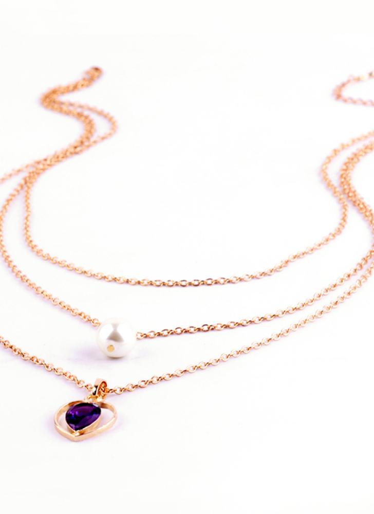 Declaración de Nueva Fahion caliente de múltiples capas de la joyería plateada oro Collar Gargantilla colgante para las mujeres Muchachas del regalo