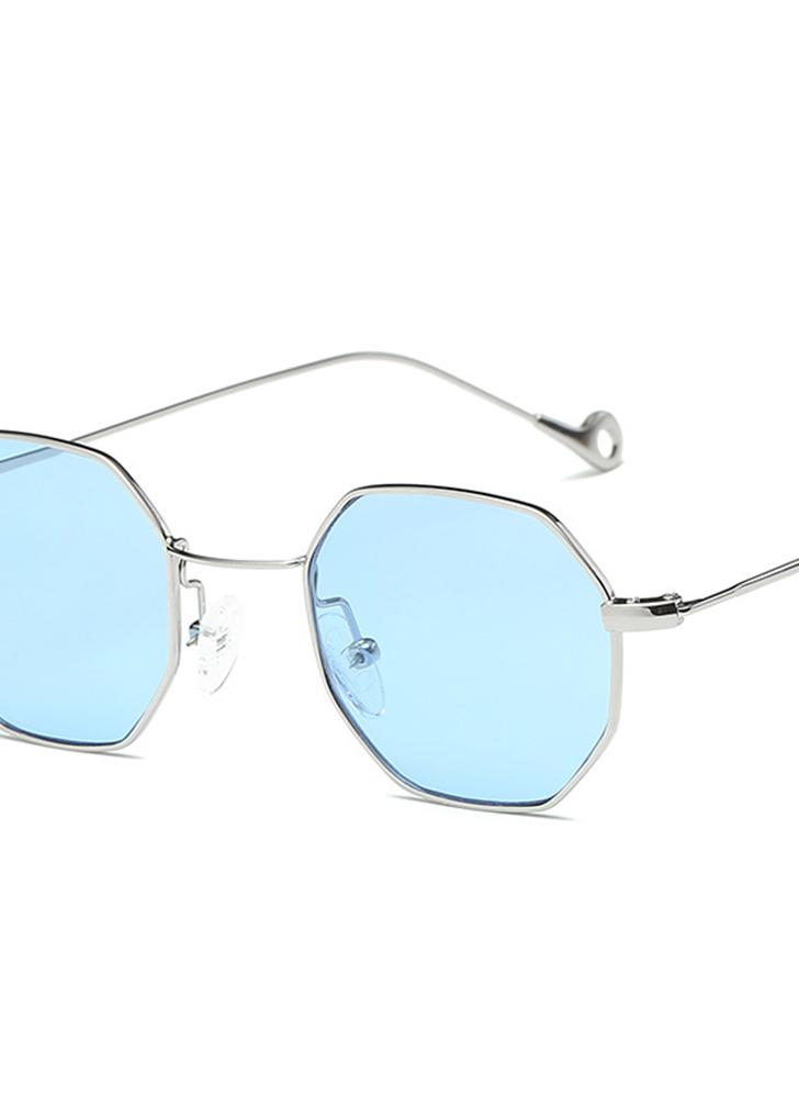 New Fashion UV400 Popular Small Pane Shape Unisex Plain Glass Spectacles