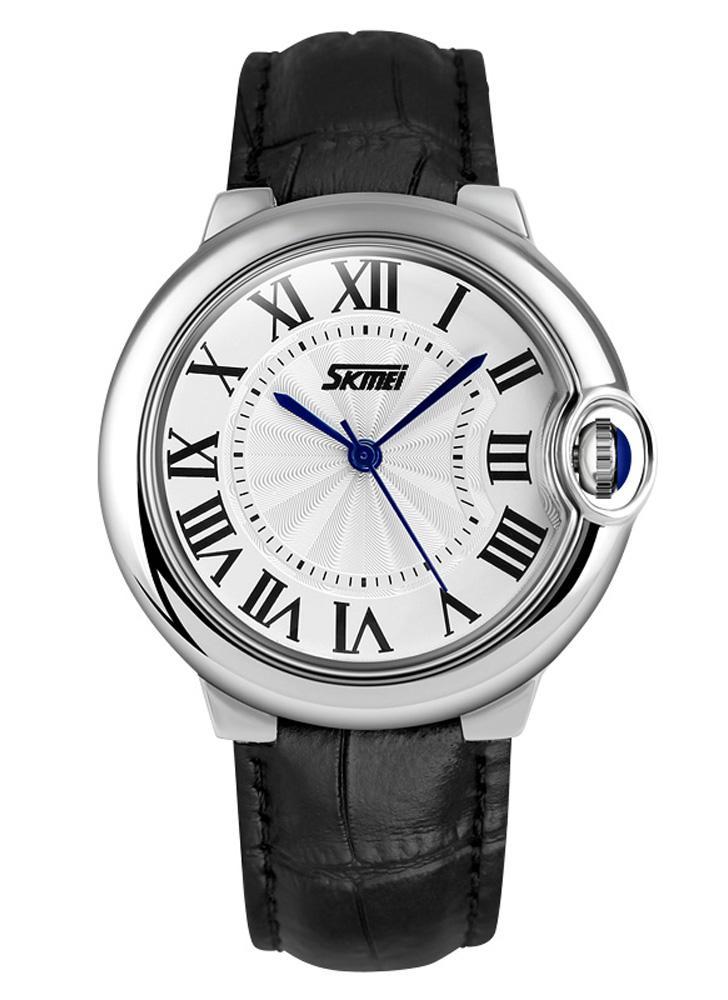 483793e2f42d9 SKMEI moda Casual donna orologio da polso retrò romano numero Dial Display  Lady orologio