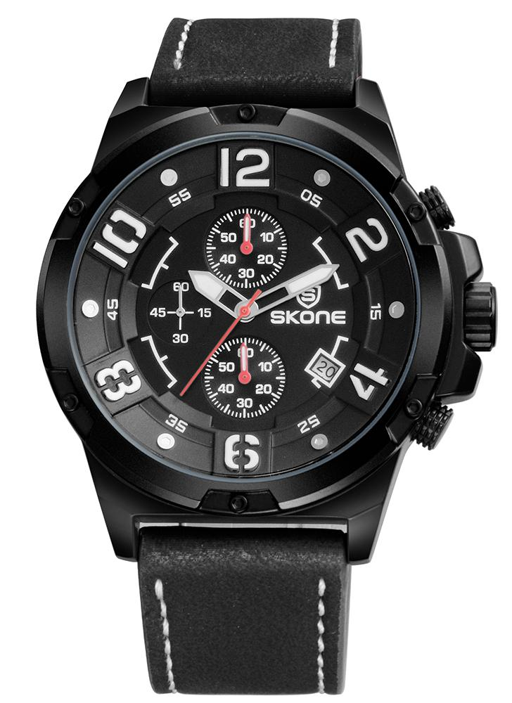 SKONE Fashion Casual Watch 3ATM Relógio Quartz Resistente à Água