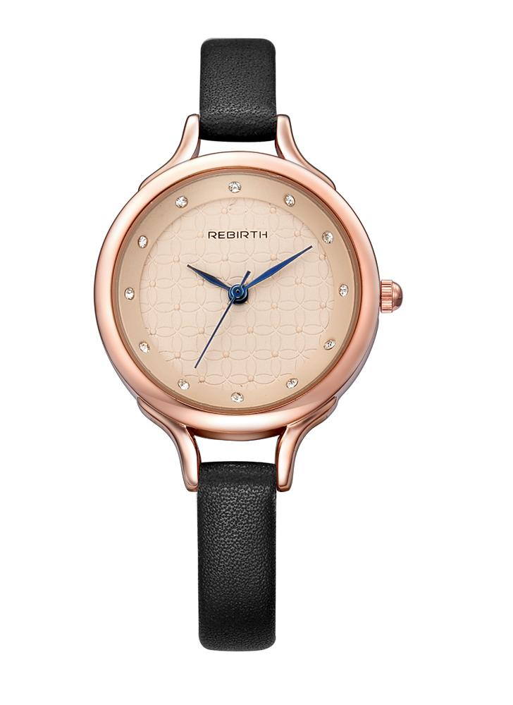 REBIRTH Fashion Casual Orologio al quarzo Orologio resistente all'acqua