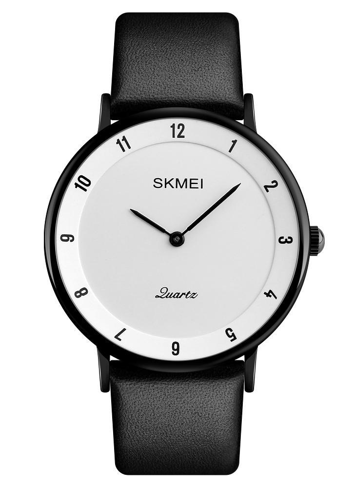 SKMEI Fashion Casual Quartz Watch 3ATM Relógios impermeáveis para homens