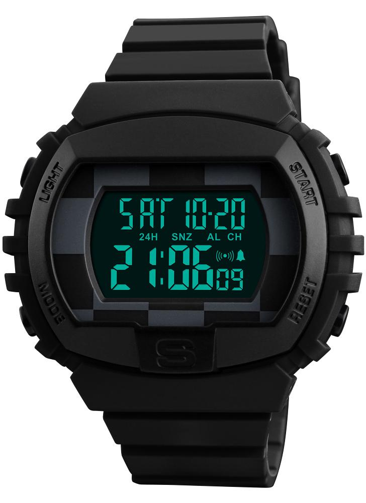SKMEI Sport Digital Watch 5ATM Relógios impermeáveis para homens
