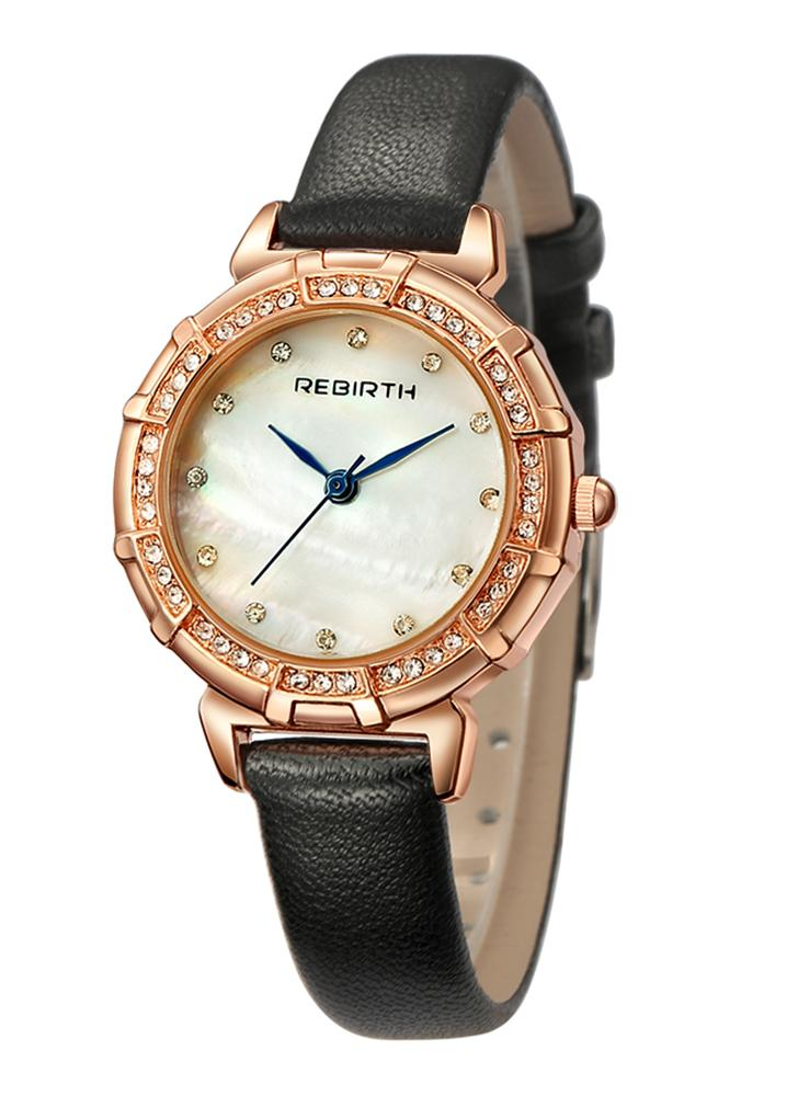 quartz wristwatch fashion watches waterproof black diamond dark bracelet business ladies gimto woman product trend rose gold luxury relogio watch women hera brand