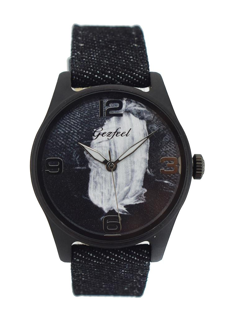 GEZFEEL Fashion Casual Women Relógios Quartz Woman Relógio de pulso Casual Feminino Watch Time Display