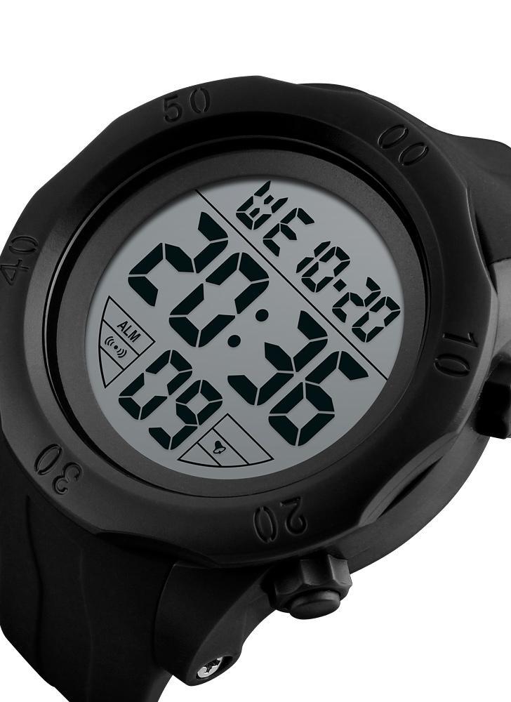 1d1e97b60df SKMEI Sport Digital Watch 5ATM Relógios unisex resistentes à água  Retroiluminação Relógio de pulso Tempo