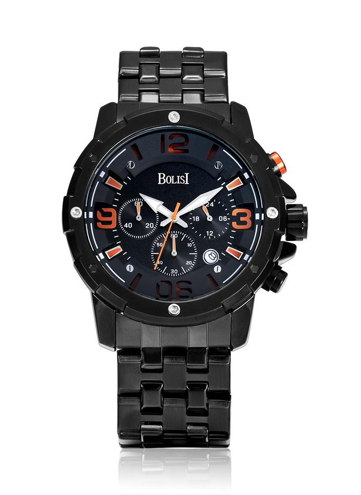 Bolisi Fashion Casual Quartz Watch 3ATM Water-resistant Watch Men Wristwatches Male Relogio Musculino Calendar