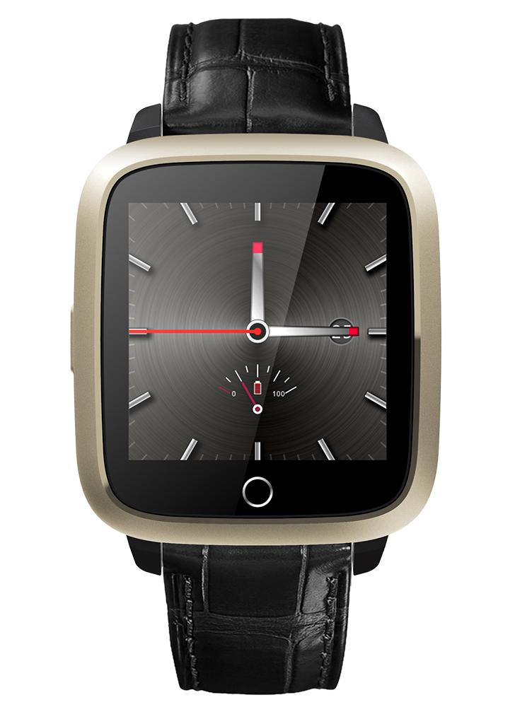 Câmera de tela de luxo 3G LCD 1.3GHz Quad Core CPU Wifi BT4.0 Smartwatch