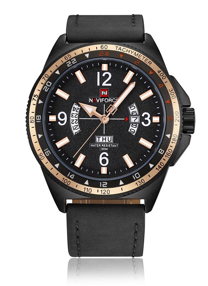 Reloj de cuarzo deportivo NAVIFORCE 3ATM Relojes de hombre resistente al agua