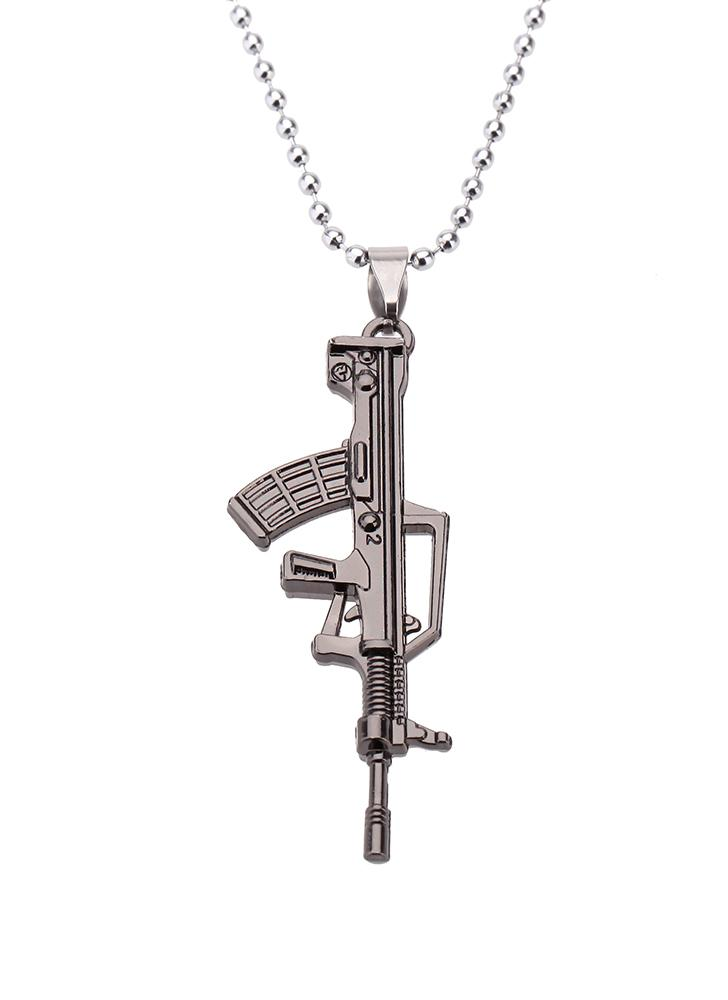 Brown fashion personalized army gun rifle pendant necklace chicuu fashion personalized army gun rifle pendant necklace mozeypictures Images