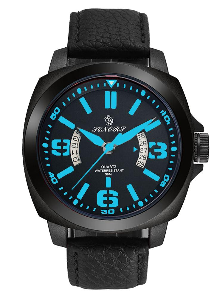 SENORS 3ATM Water-resistant Sport Watch Men Quartz Watch