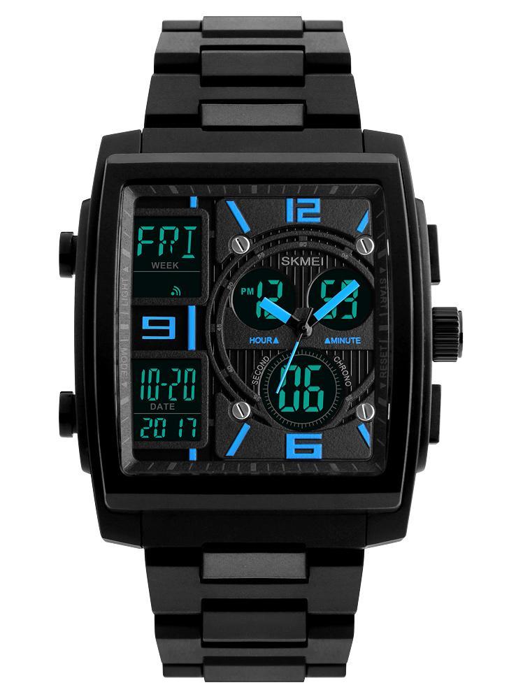 SKMEI 5ATM Water-resistant Watch Fashion Casual Digital Watch