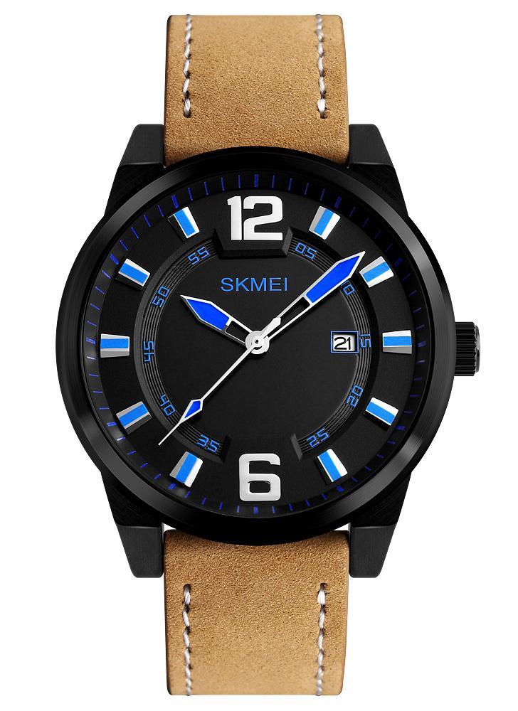 SKMEI Fashion Casual Quartz Watch 3ATM Water-resistant Men Watch