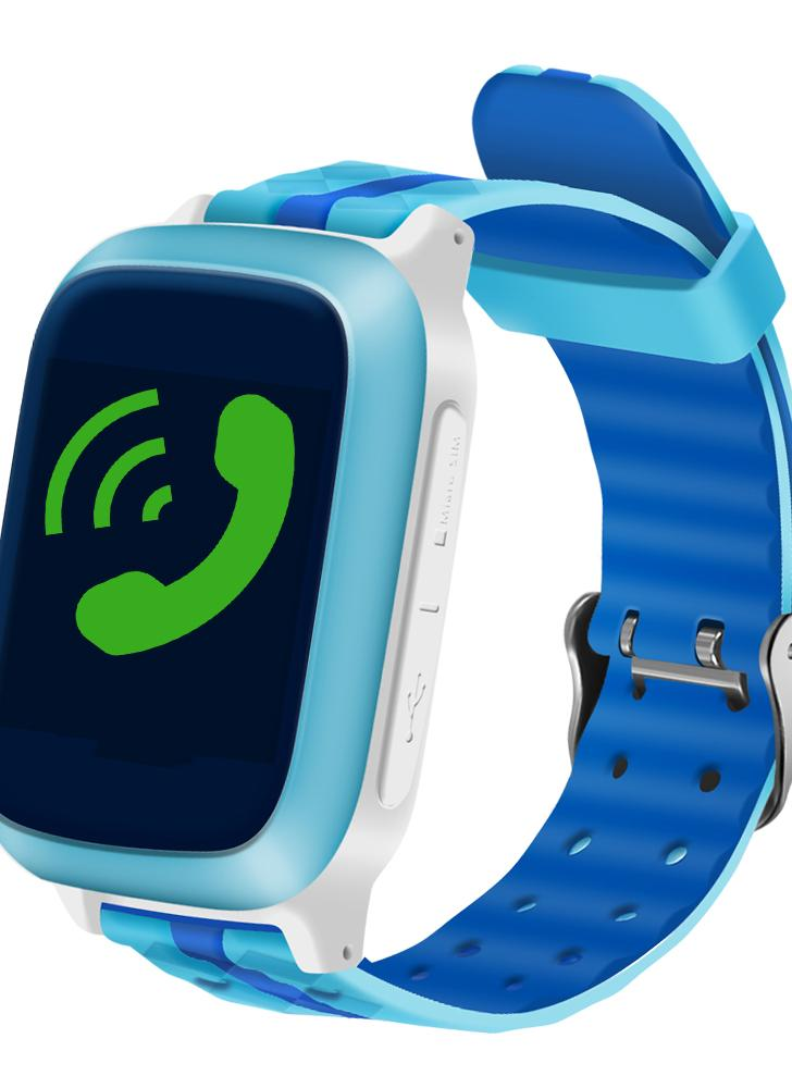 "1.44 ""LCD Smart Watch téléphone GPS Tracker"