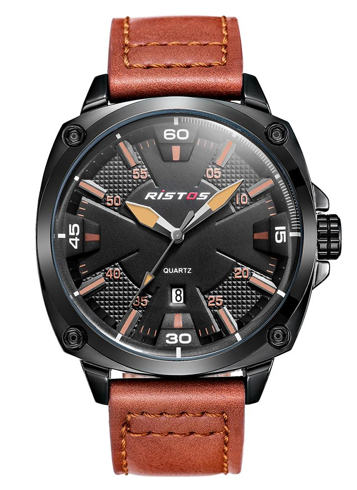 RISTOS 2017 Moda Luminous Sports Military Style Men Watch